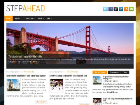 StepAhead WordPress Theme