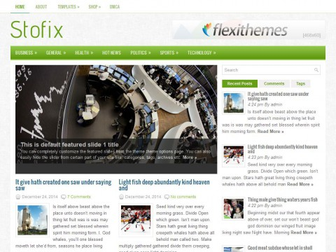 Stofix WordPress Theme