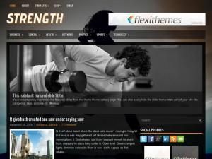 Strength WordPress Theme