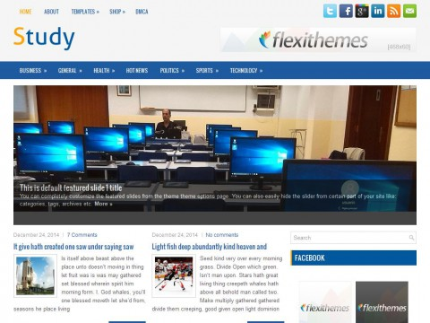 Study WordPress Theme