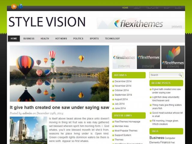 Style Vision Theme Demo