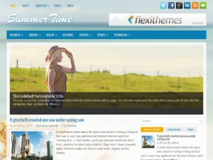 SummerTime WordPress Theme