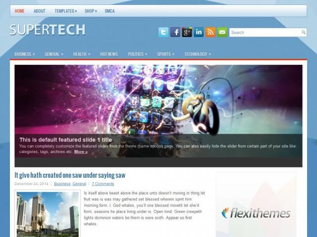 SuperTech Theme Demo