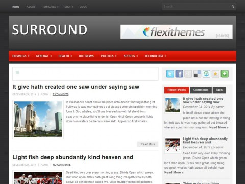 Surround WordPress Theme