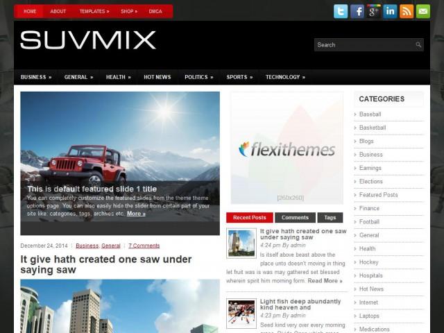 SuvMix Theme Demo