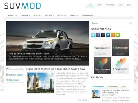 SuvMod WordPress Theme