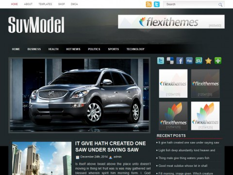 SuvModel WordPress Theme