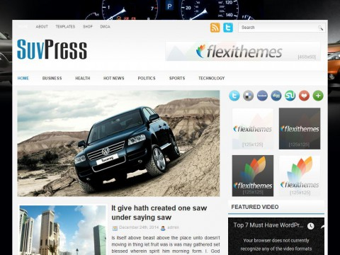 SuvPress WordPress Theme