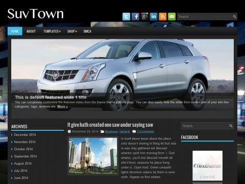 SuvTown WordPress Theme