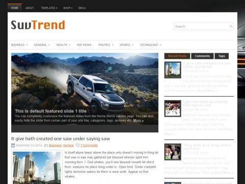 SuvTrend WordPress Theme