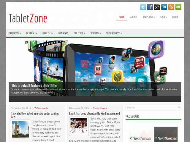 TabletZone Theme Demo