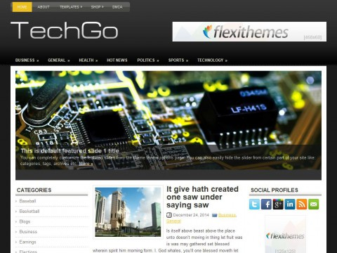 TechGo WordPress Theme