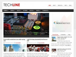 TechLine WordPress Theme