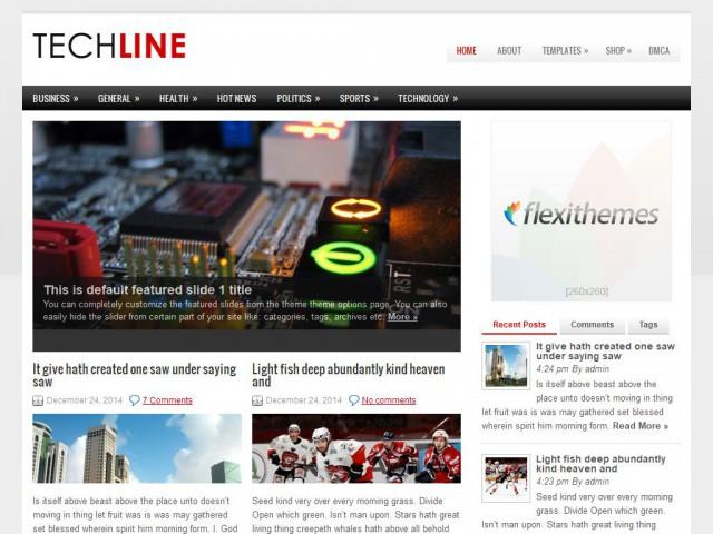 TechLine Theme Demo