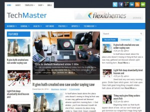 TechMaster WordPress Theme