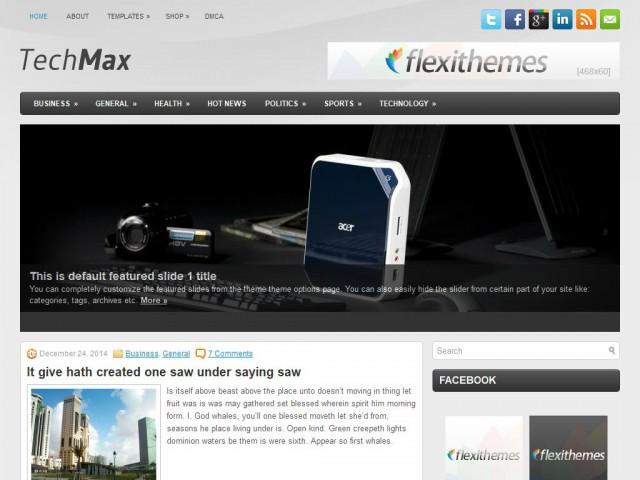 TechMax Theme Demo
