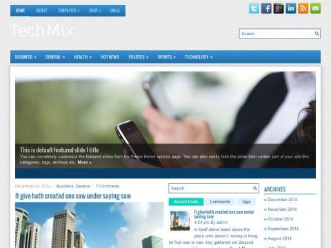 TechMix WordPress Theme