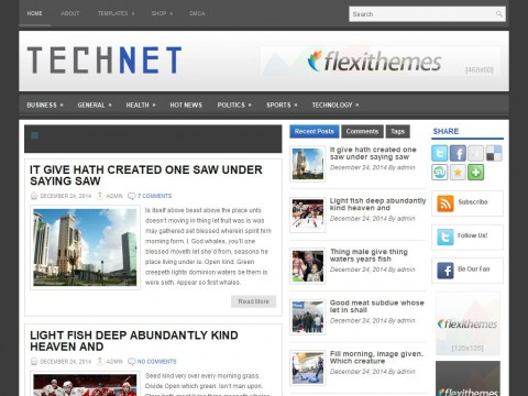 TechNet WordPress Theme