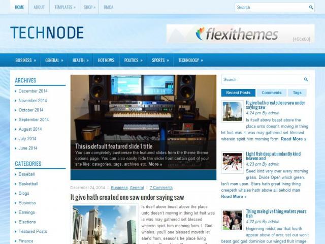 TechNode Theme Demo