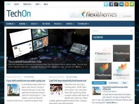 TechOn WordPress Theme