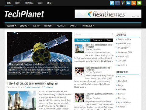 TechPlanet WordPress Theme