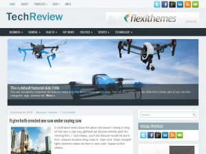 TechReview WordPress Theme