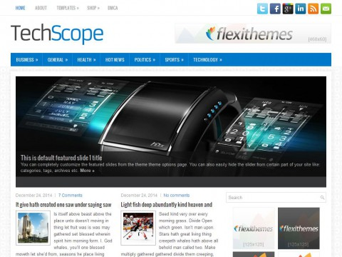 TechScope WordPress Theme