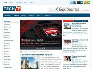 TechSeven WordPress Theme
