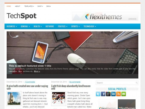 TechSpot WordPress Theme