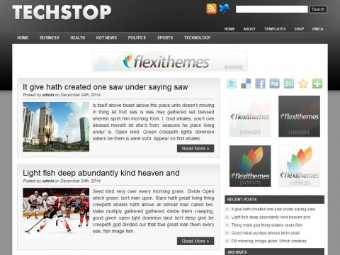 Tech Stop WordPress Theme