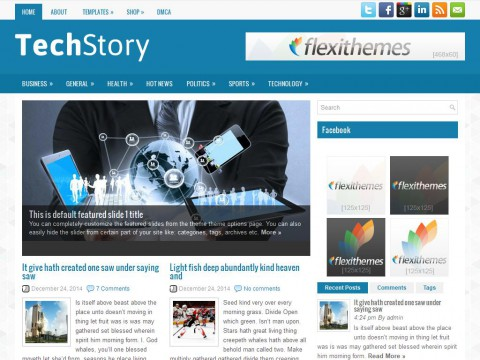 TechStory WordPress Theme