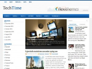 TechTime WordPress Theme