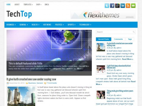 TechTop WordPress Theme
