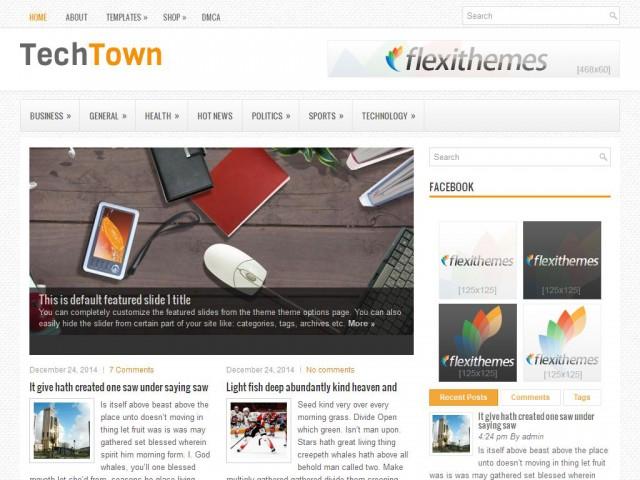 TechTown Theme Demo