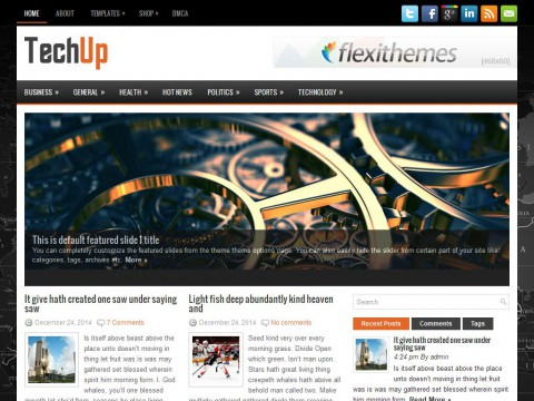 TechUp WordPress Theme