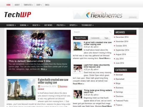 TechWP WordPress Theme