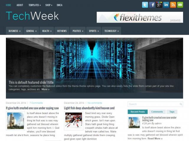 TechWeek Theme Demo