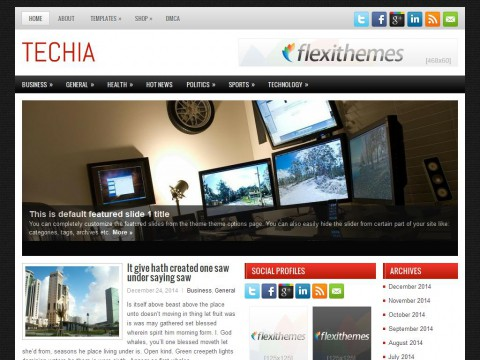 Techia WordPress Theme