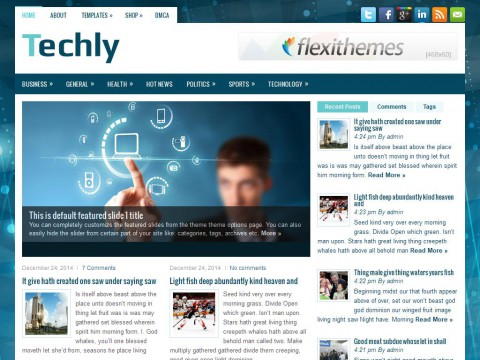 Techly WordPress Theme