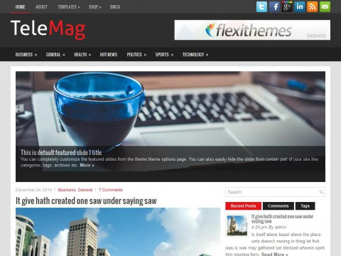 TeleMag WordPress Theme