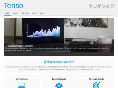Tenso WordPress Theme