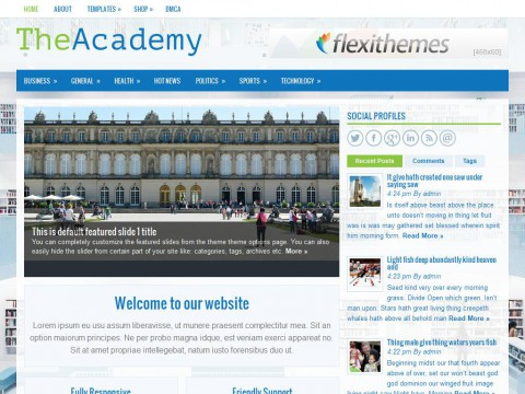 TheAcademy WordPress Theme
