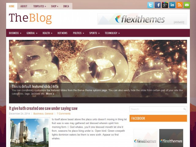 TheBlog Theme Demo