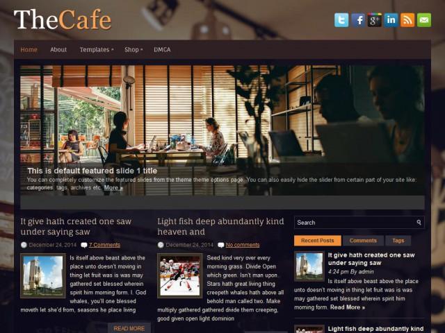 TheCafe Theme Demo