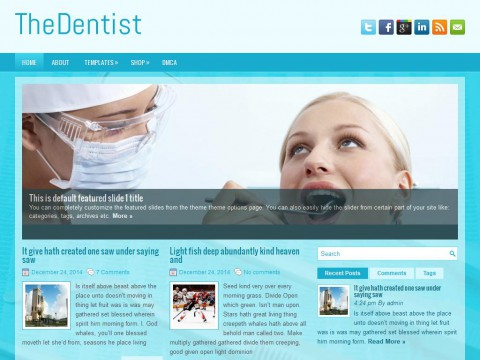 TheDentist WordPress Theme