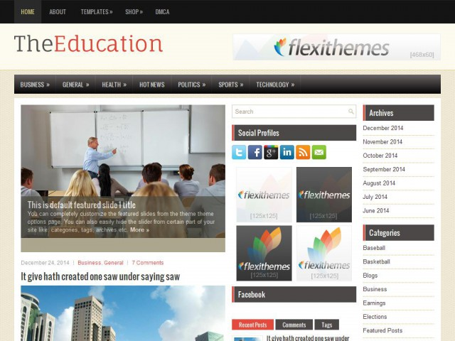 TheEducation Theme Demo