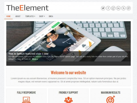 TheElement WordPress Theme