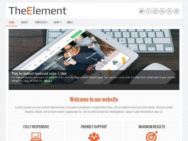 TheElement Theme Demo