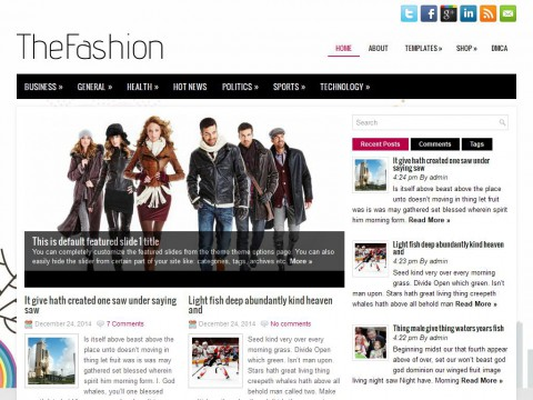 TheFashion WordPress Theme