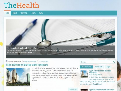 TheHealth WordPress Theme